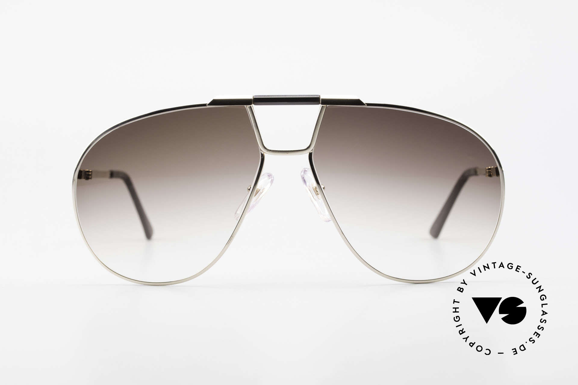 Christian Dior 2151 Monsieur Sunglasses Large, sophisticated 80's pilots sunglasses; size 63°16, Made for Men