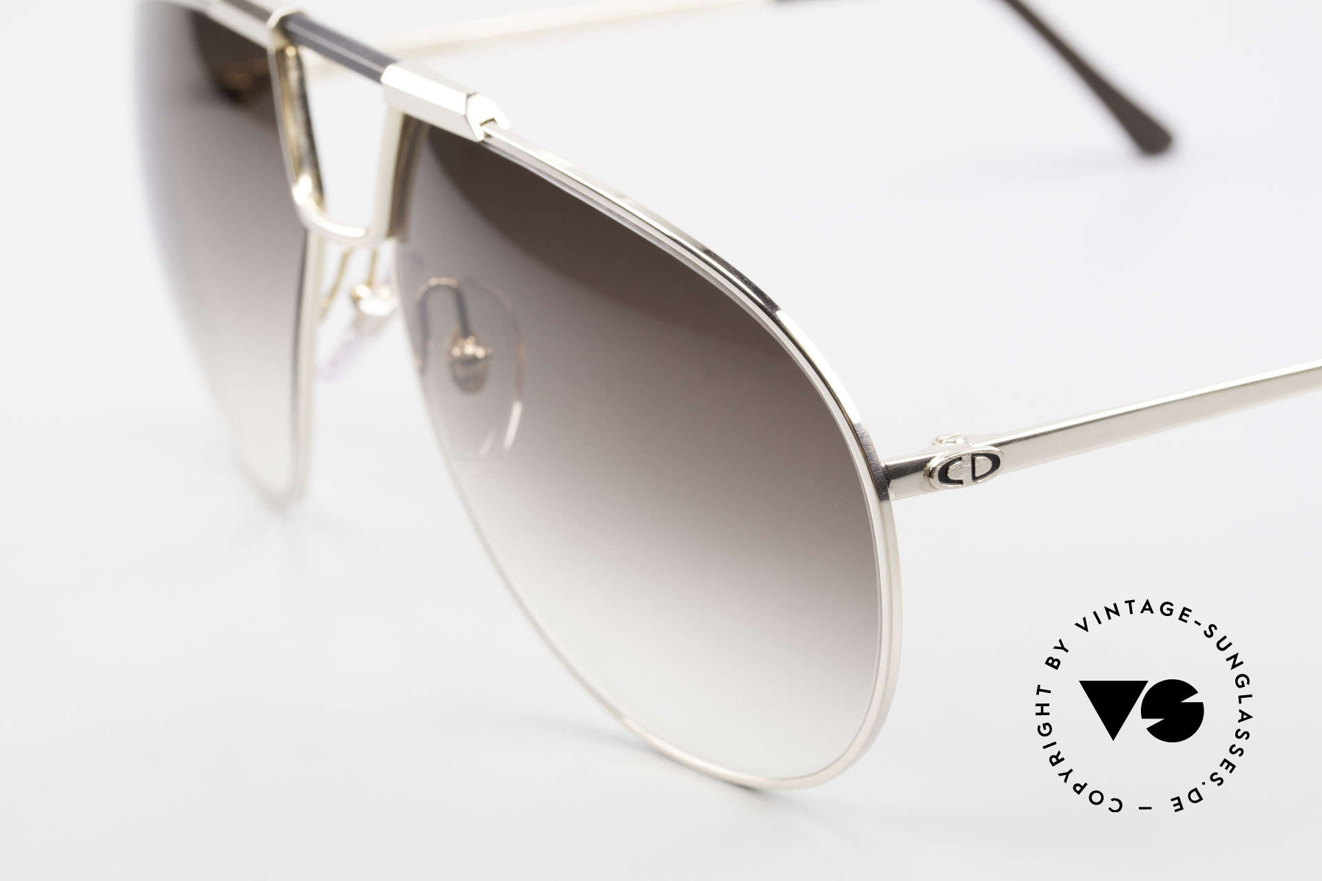 Christian Dior 2151 Monsieur Sunglasses Large, LARGE size (138mm width) & with original case, Made for Men