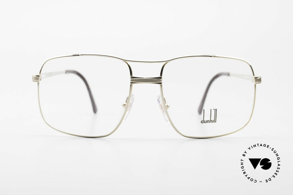 Dunhill 6048 Gold Plated 80's Eyeglasses, this rare model combines all quality characteristics, Made for Men