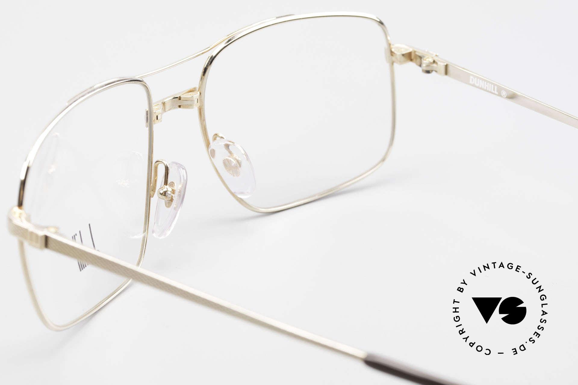 Dunhill 6048 Gold Plated 80's Eyeglasses, NO RETRO eyeglasses, but a precious old ORIGINAL, Made for Men