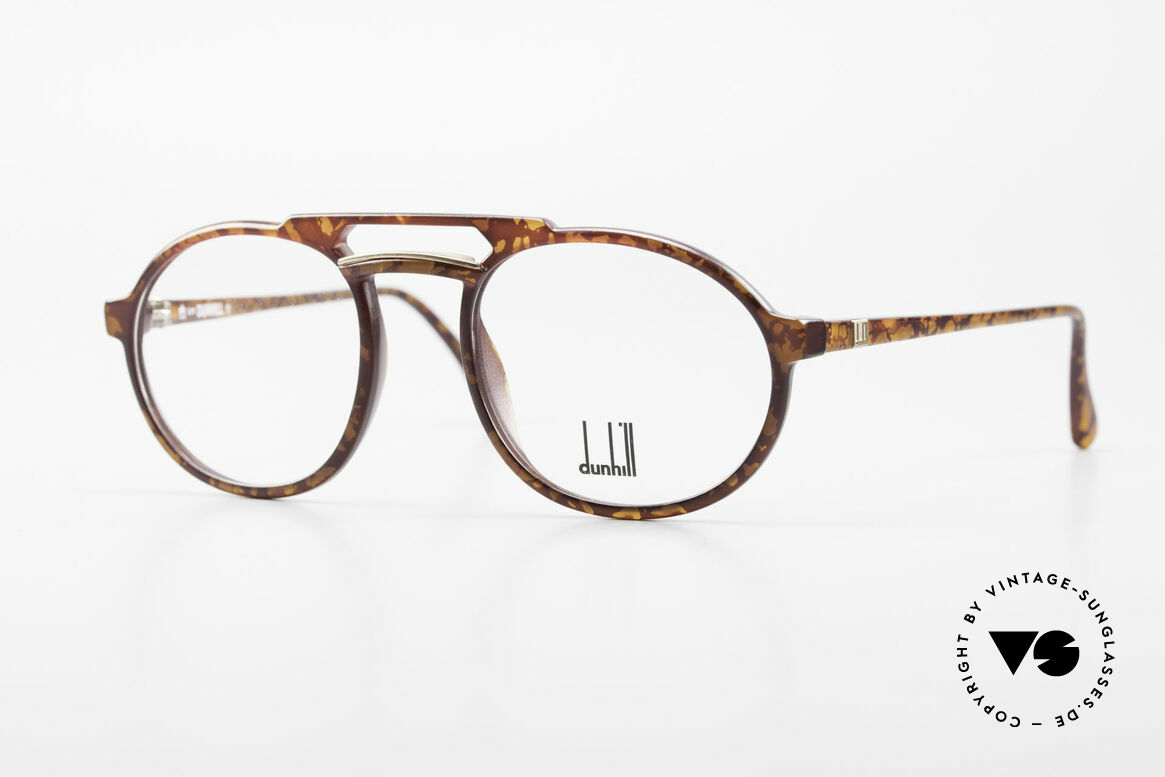 Dunhill 6114 Oval Round Vintage Frame 90s, oval round vintage eyeglass-frame by A. DUNHILL, Made for Men