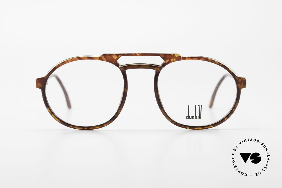 Dunhill 6114 Oval Round Vintage Frame 90s, brilliant OPTYL-frame with matchless TOP-quality, Made for Men