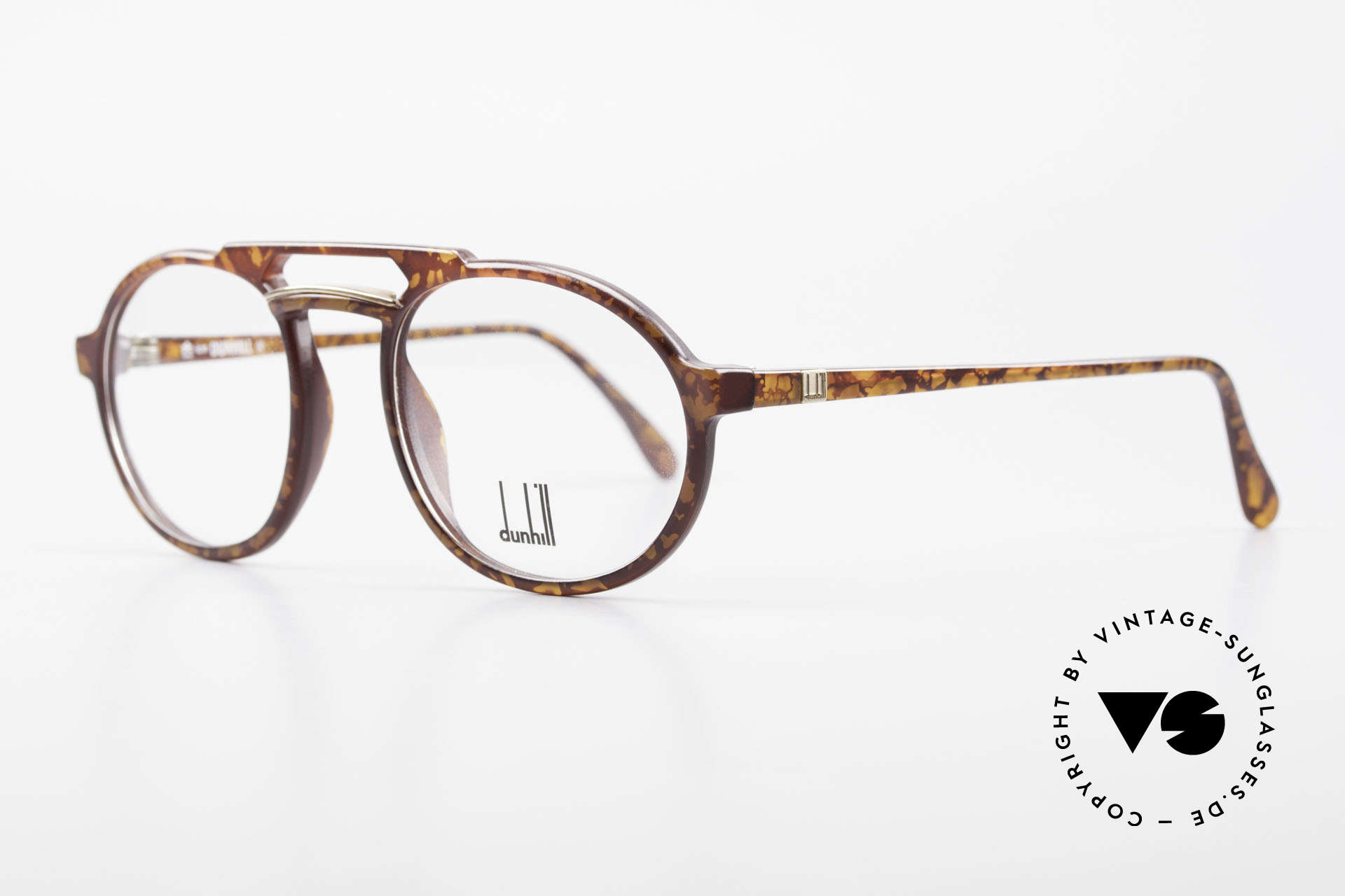 Dunhill 6114 Oval Round Vintage Frame 90s, the durable OPTYL material does not seem to age!, Made for Men