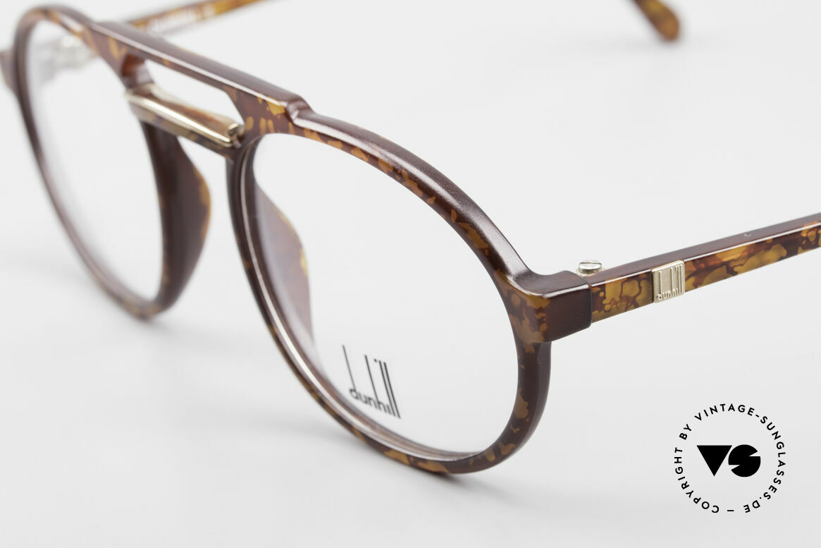 Dunhill 6114 Oval Round Vintage Frame 90s, manly british design from the 90's - tortoise colored, Made for Men