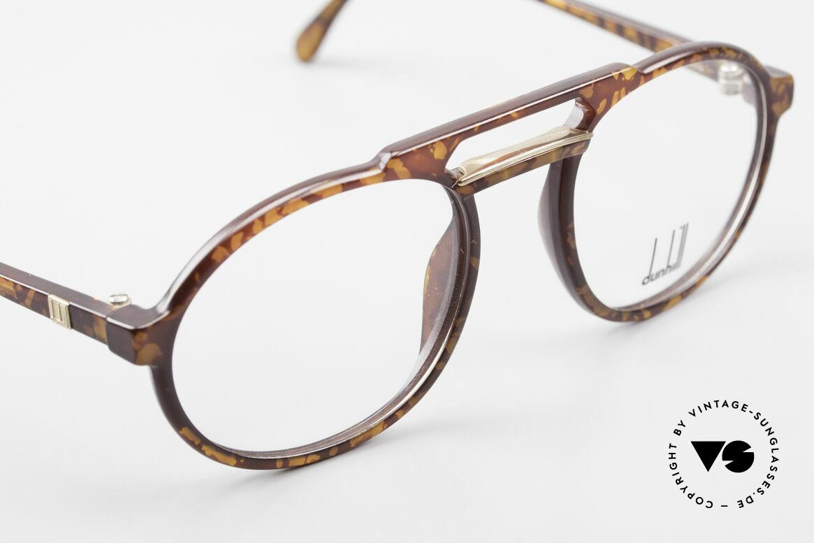 Dunhill 6114 Oval Round Vintage Frame 90s, unworn (like all our rare vintage Dunhill eyeglasses), Made for Men