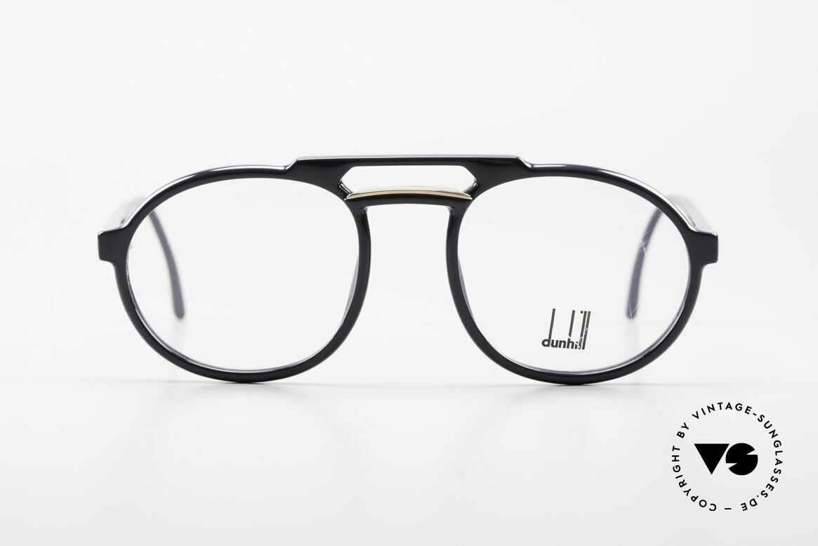 Dunhill 6114 Oval 90's Glasses Dark-Blue, brilliant OPTYL-frame with matchless TOP-quality, Made for Men
