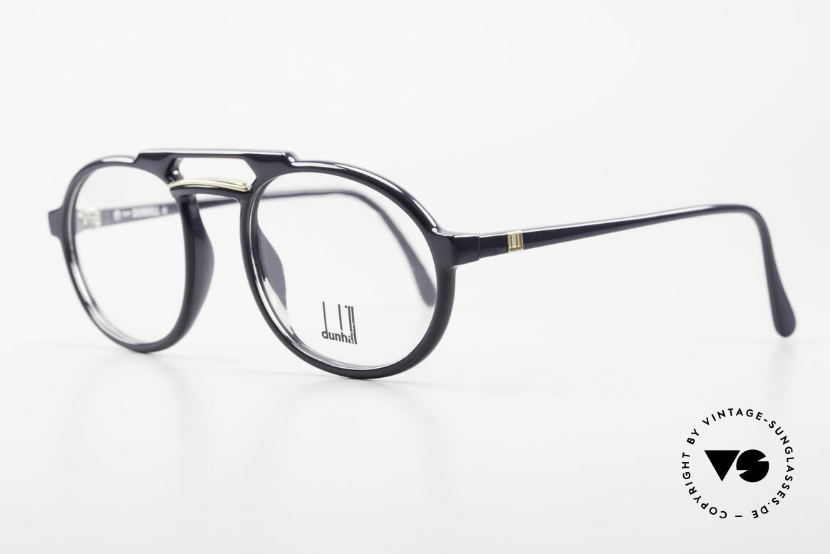 Dunhill 6114 Oval 90's Glasses Dark-Blue, the durable OPTYL material does not seem to age!, Made for Men