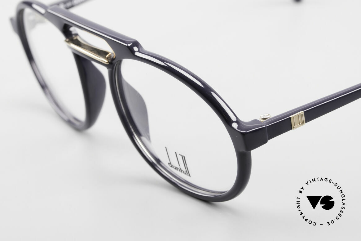 Dunhill 6114 Oval 90's Glasses Dark-Blue, manly british design from the 90's in DARK BLUE!, Made for Men