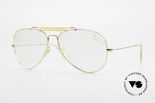 Ray Ban Outdoorsman II 80's B&L USA Eyeglass-Frame Details