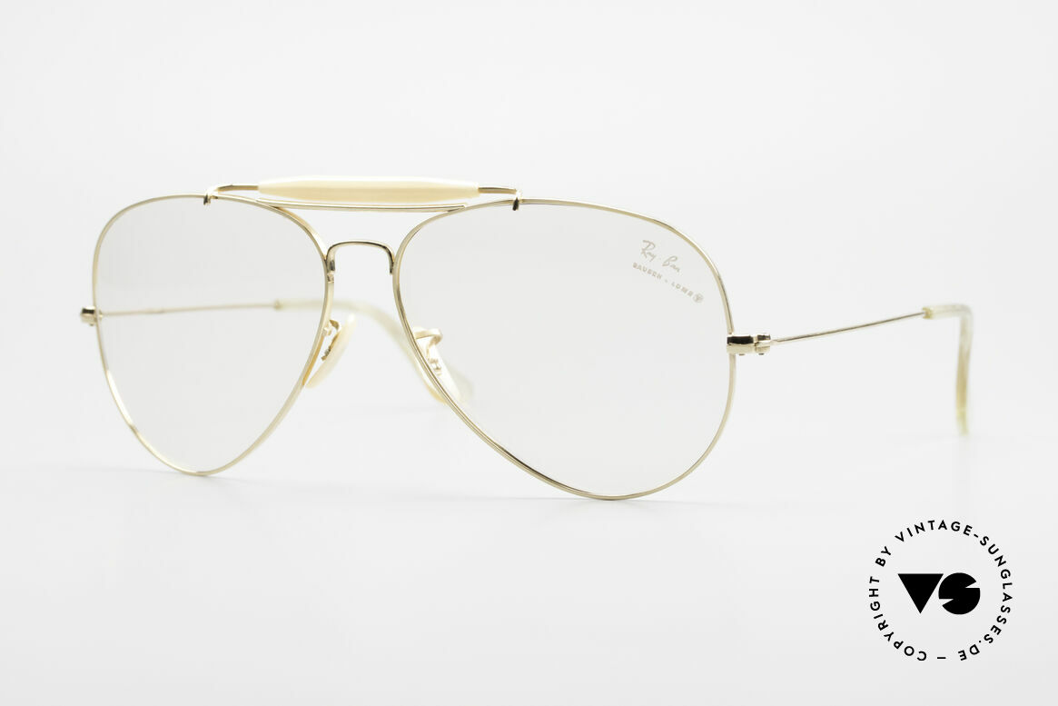 Ray Ban Outdoorsman II 80's B&L USA Eyeglass-Frame, the classic Ray Ban USA eyeglasses par excellence, Made for Men