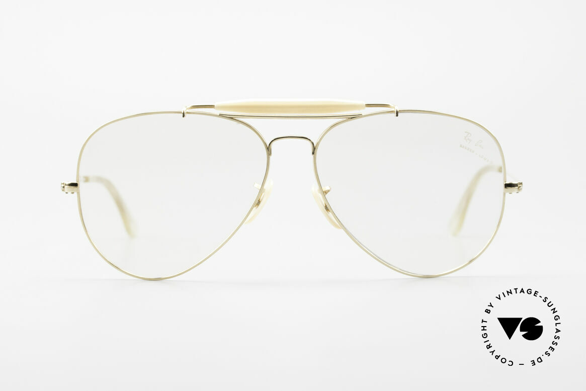Ray Ban Outdoorsman II 80's B&L USA Eyeglass-Frame, legendary aviator design in best quality (high-end), Made for Men