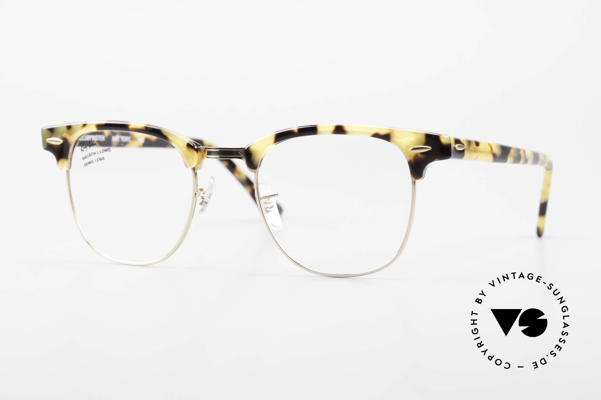 Ray Ban Clubmaster Limited Edition Frame USA B&L, OLD original 90's eyeglasses by RAY-BAN, USA, Made for Men and Women