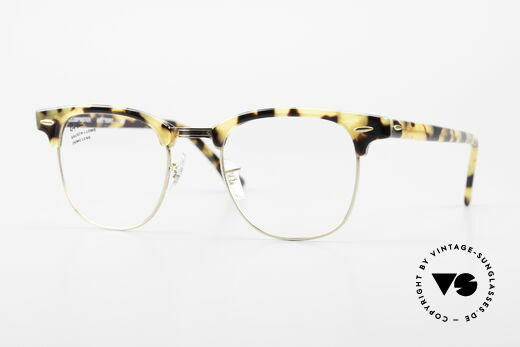 Ray Ban Clubmaster Limited Edition Frame USA B&L Details