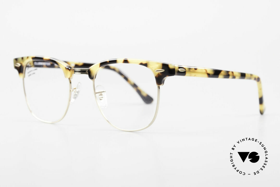 Ray Ban Clubmaster Limited Edition Frame USA B&L, limited special Edition: made upon request only, Made for Men and Women