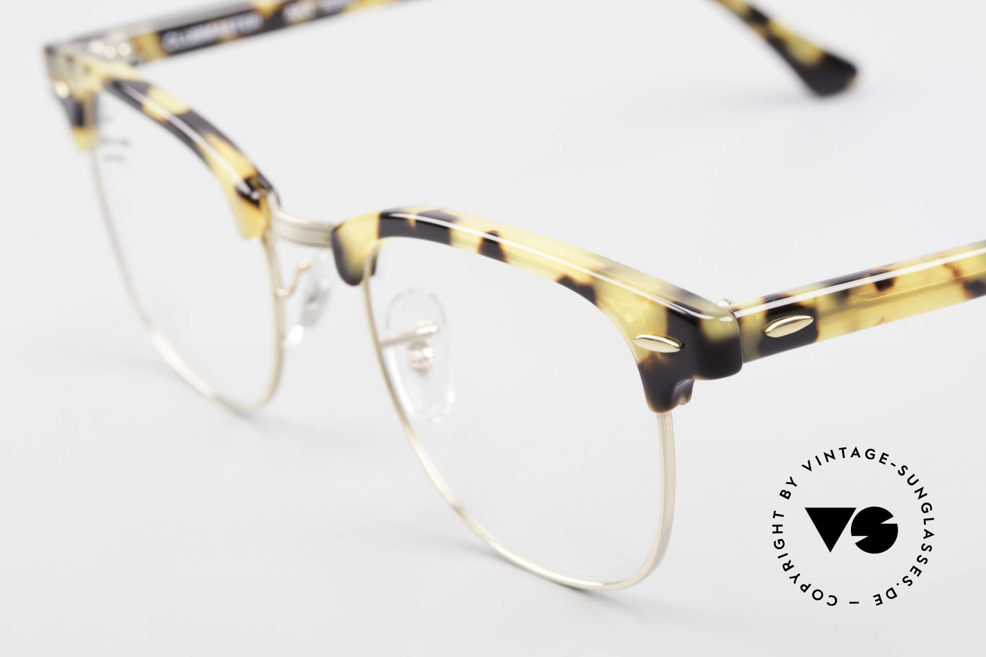 Ray Ban Clubmaster Limited Edition Frame USA B&L, never worn; like all our vintage Ray Ban frames, Made for Men and Women