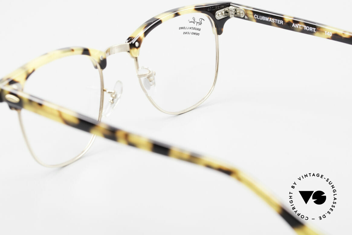 Ray Ban Clubmaster Limited Edition Frame USA B&L, Size: medium, Made for Men and Women