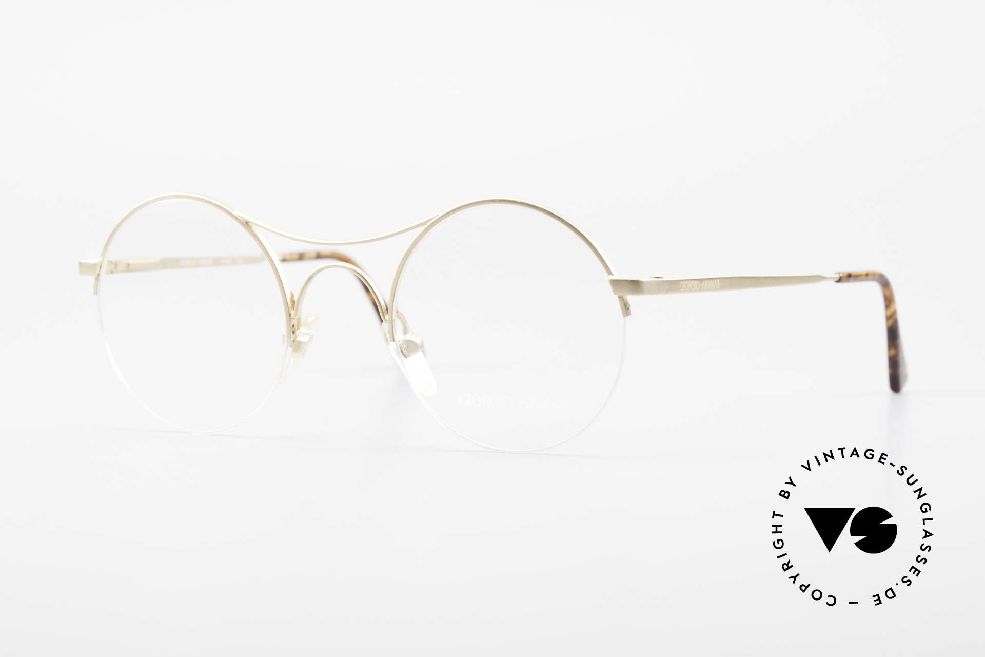 Giorgio Armani 121 Schubert Glasses Round Style, Giorgio Armani frame, mod. 121, col. 706, size 47-24, Made for Men