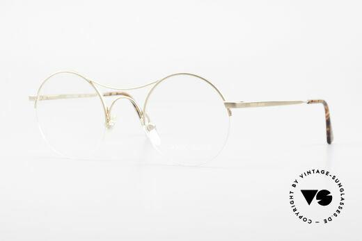 Giorgio Armani 121 Schubert Glasses Round Style Details