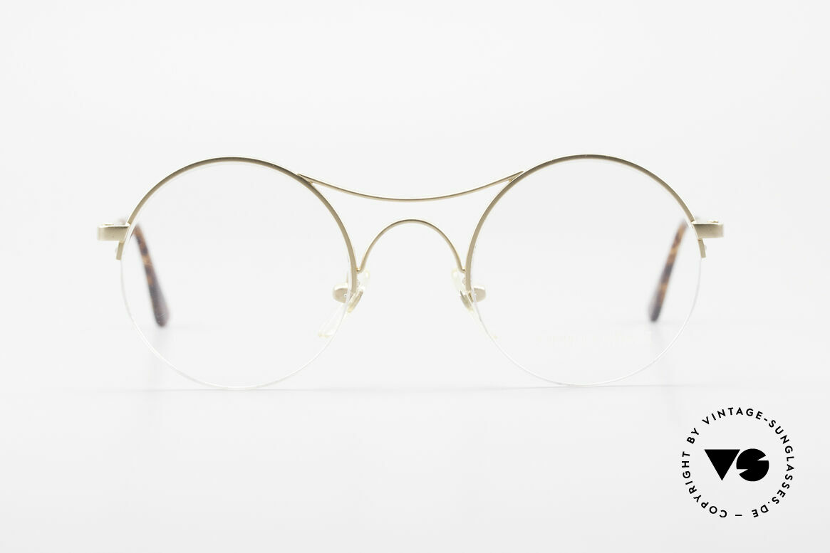 Giorgio Armani 121 Schubert Glasses Round Style, the round version of the legendary Armani 229 glasses, Made for Men