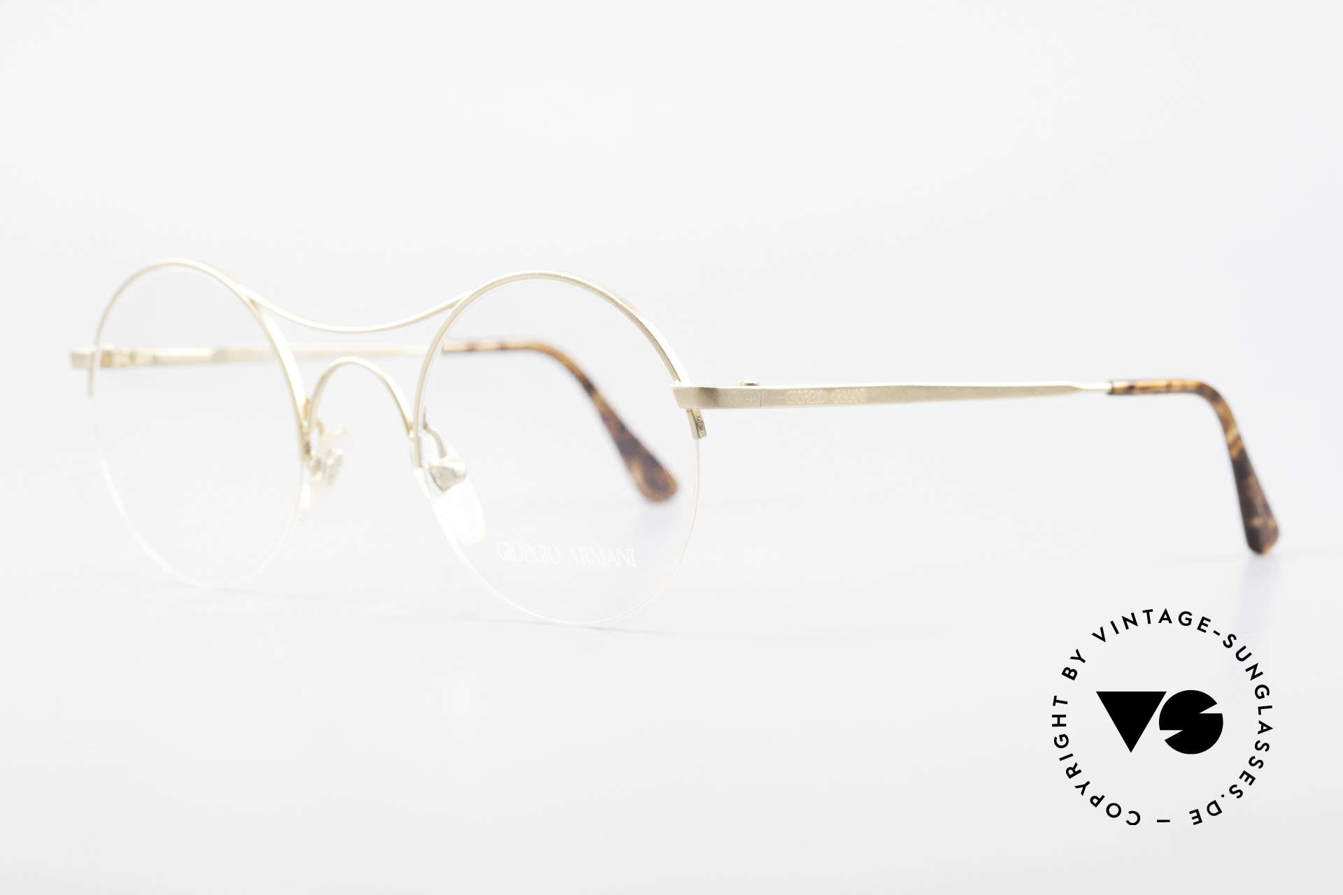 Giorgio Armani 121 Schubert Glasses Round Style, mod. 229 = the 'Schubert glasses' (Austrian composer), Made for Men