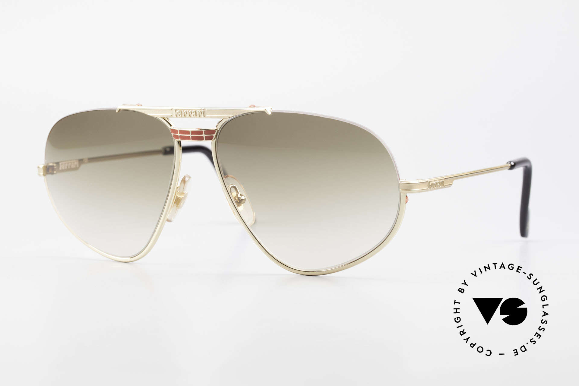 Ferrari F2 Ferrari Formula 1 Sunglasses, rare classic shades by famous Ferrari from the 90's, Made for Men