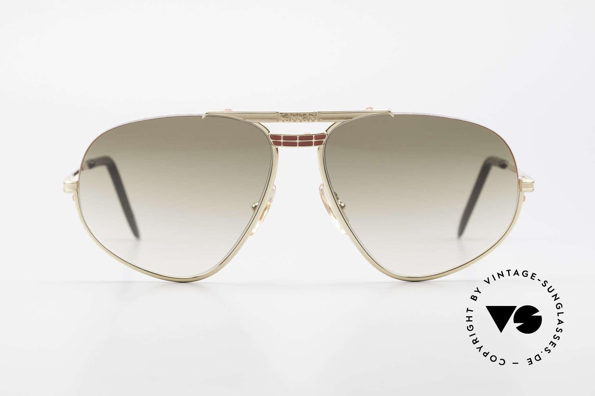 Ferrari F2 Ferrari Formula 1 Sunglasses, very interesting frame construction (semi rimless), Made for Men