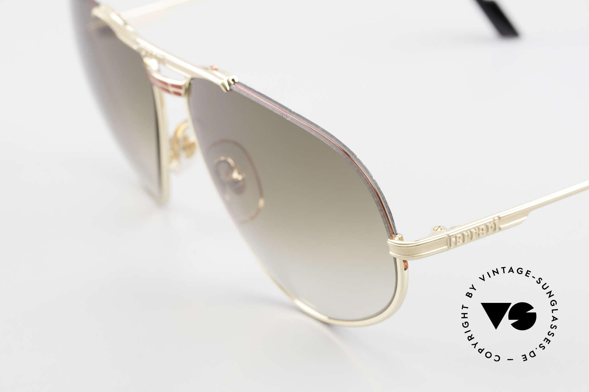 Ferrari F2 Ferrari Formula 1 Sunglasses, unworn (like all our VINTAGE sunglasses by Ferrari), Made for Men