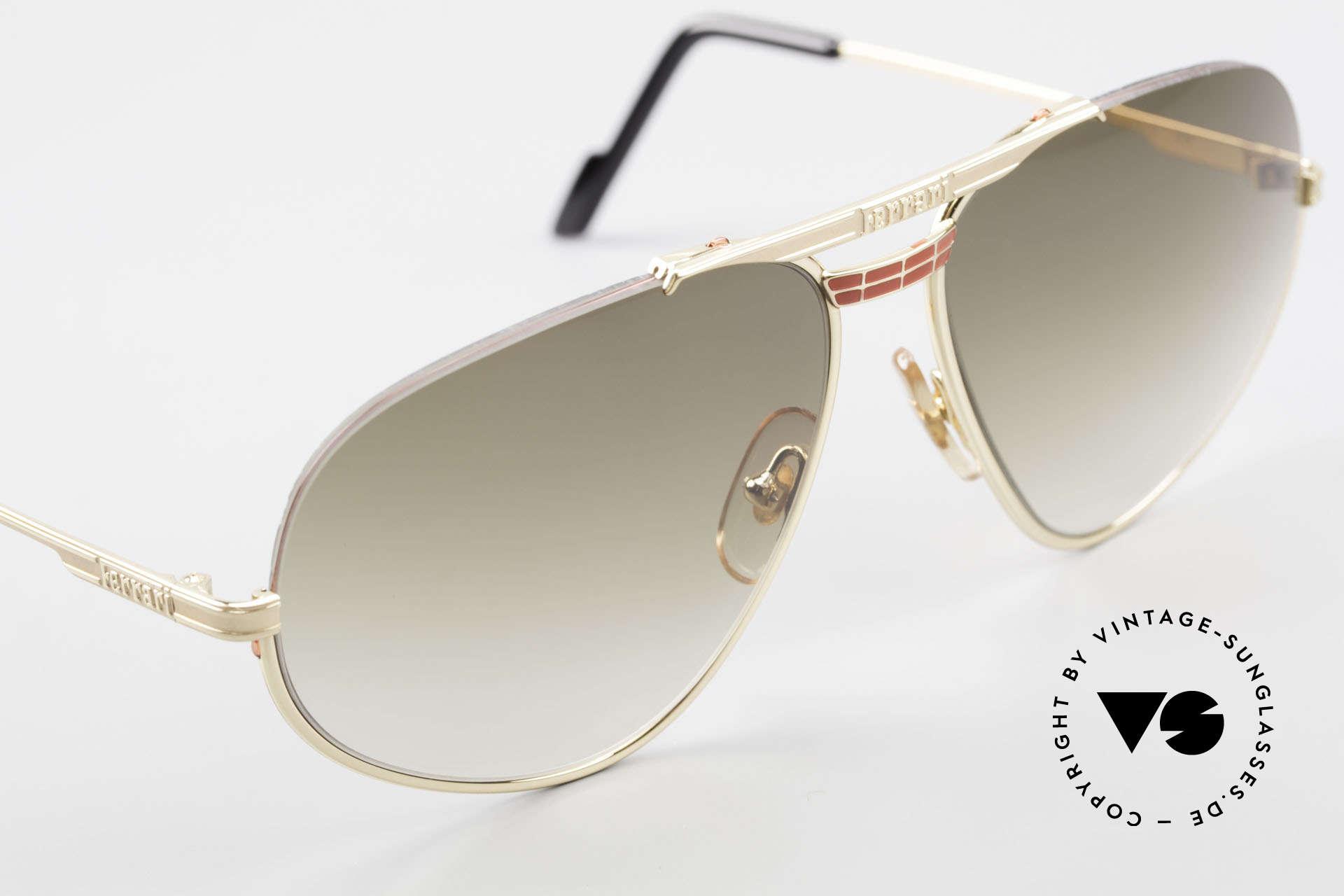 Ferrari F2 Ferrari Formula 1 Sunglasses, NO RETRO sunglasses, but a 30 years old ORIGINAL, Made for Men