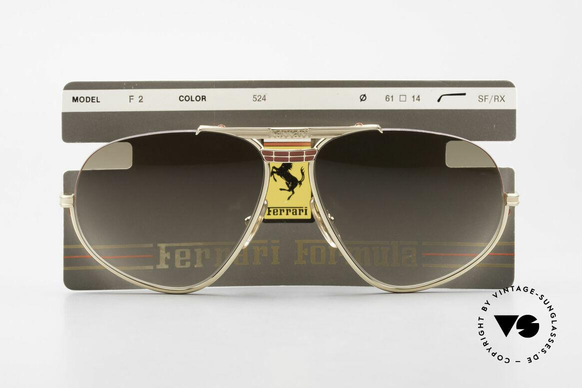 Ferrari F2 Ferrari Formula 1 Sunglasses, Size: extra large, Made for Men