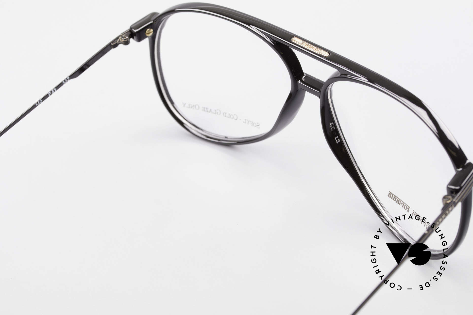 Ferrari F51 90's Formula 1 Racing Glasses, NO RETRO eyewear; but an old 1990's vintage rarity, Made for Men
