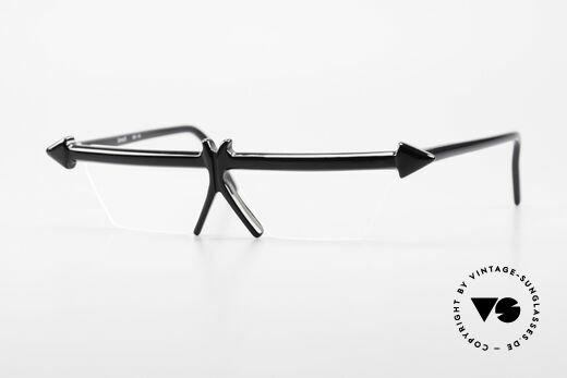 Design Maske Berlin - Ethno 5 Artful 90s Vintage Eyeglasses Details