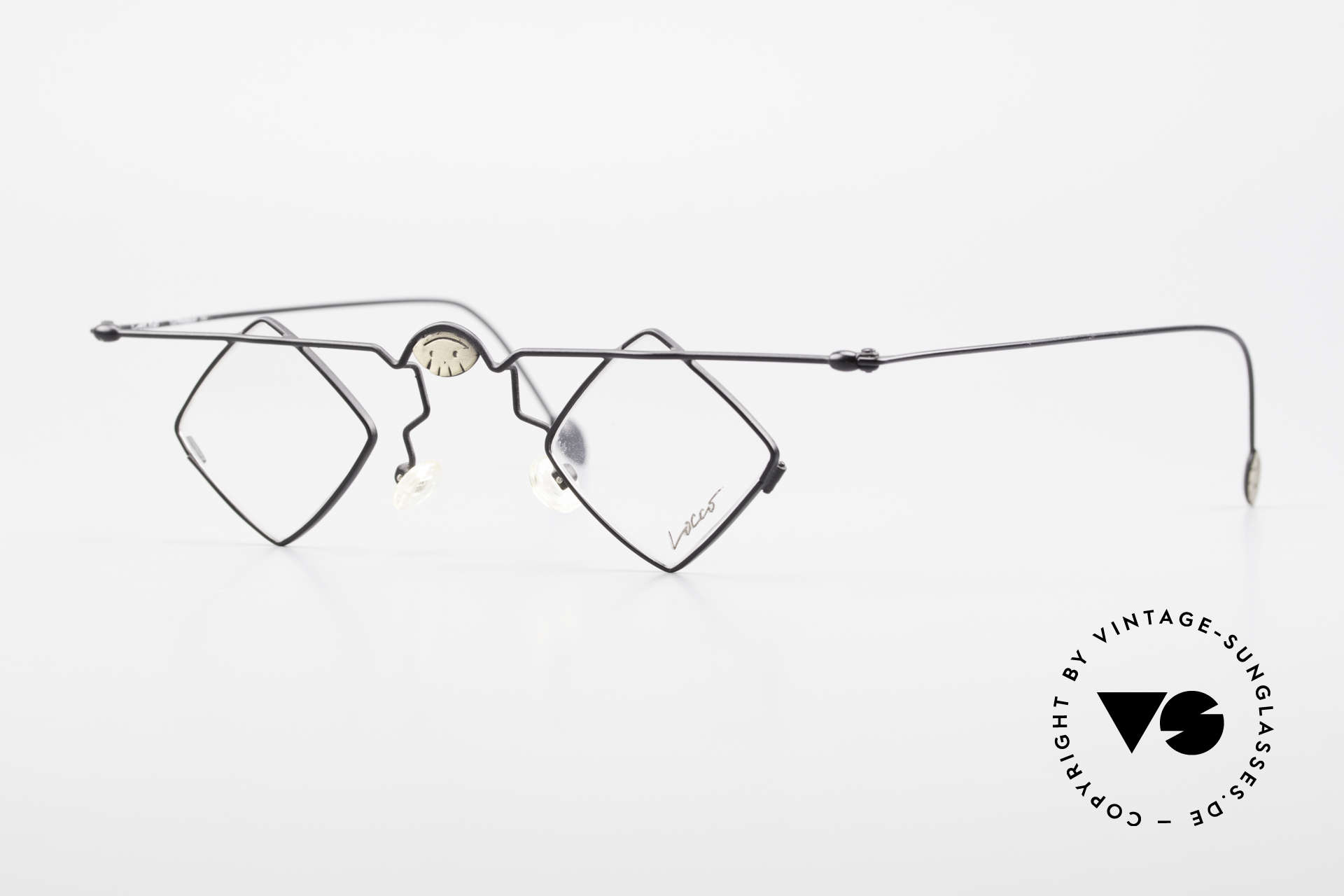 Locco 08 Good Mood Vintage Eyeglasses, good mood eyeglasses with smileys on the frame, Made for Men and Women