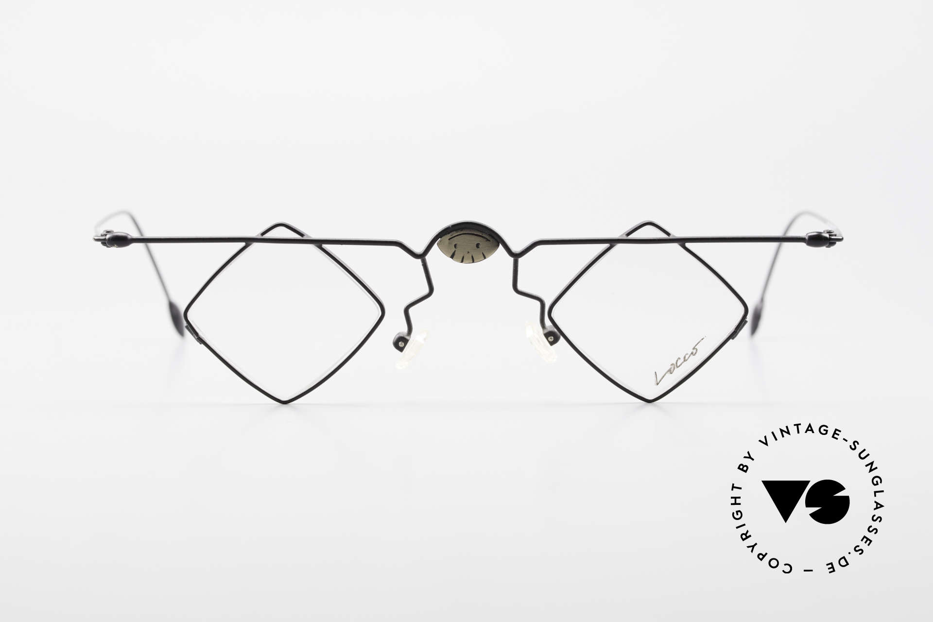 Locco 08 Good Mood Vintage Eyeglasses, artistic frame: 'opposite pole' to the 'mainstream', Made for Men and Women