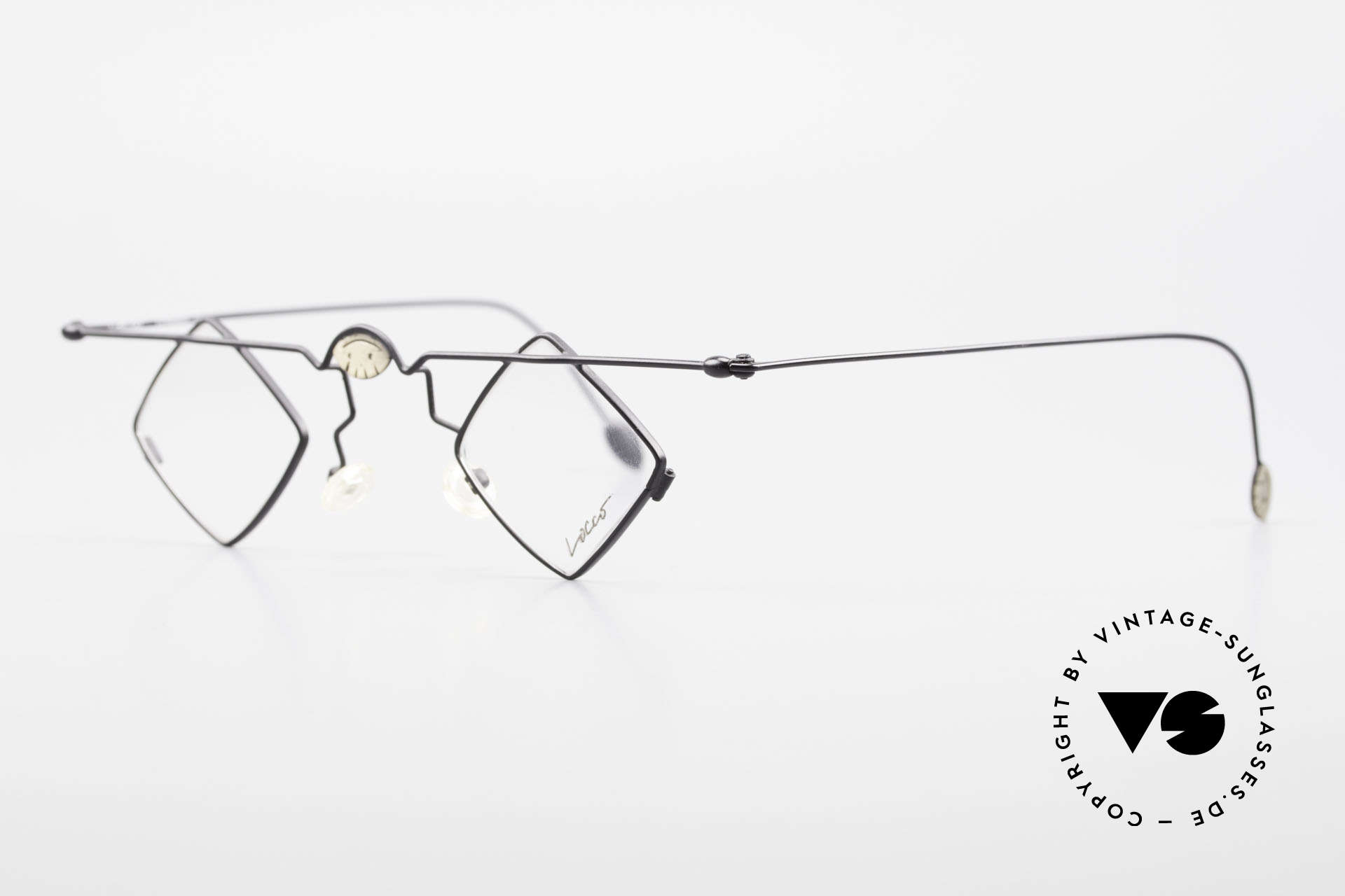 "Locco 08 Good Mood Vintage Eyeglasses, made for individualists and all ""character heads"" ;), Made for Men and Women"
