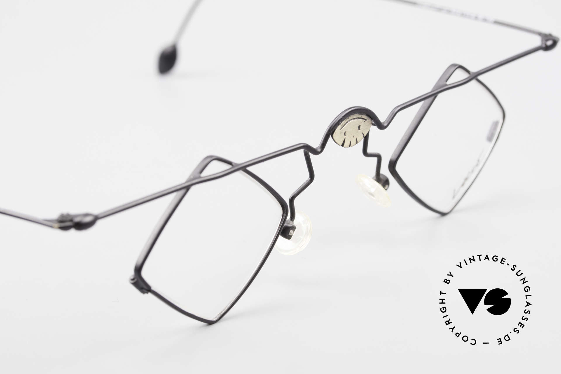 Locco 08 Good Mood Vintage Eyeglasses, demo lenses should be replaced with prescriptions, Made for Men and Women