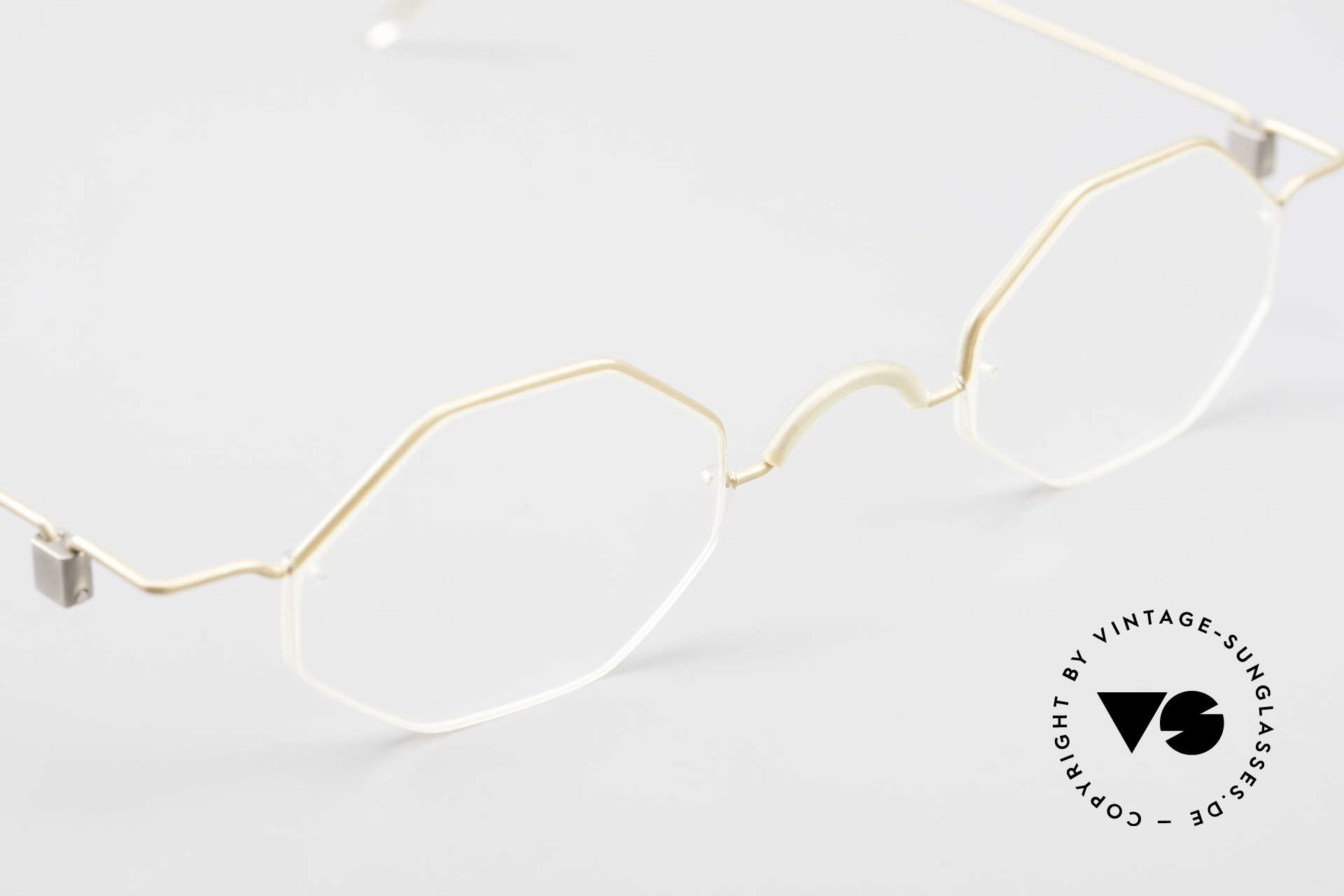 Markus T Octagonal Connoisseur Frame, the demo lenses should be replaced with prescriptions, Made for Men and Women