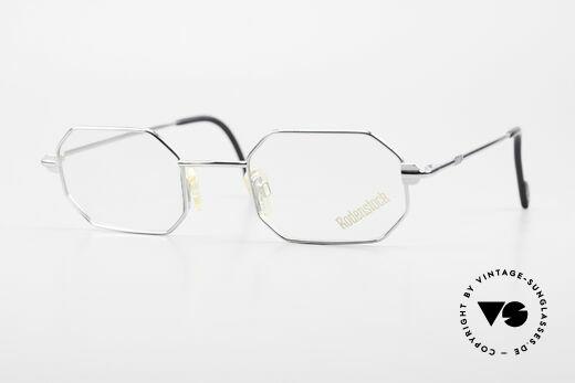 Rodenstock 7092 Octagonal 80's Metal Glasses Details