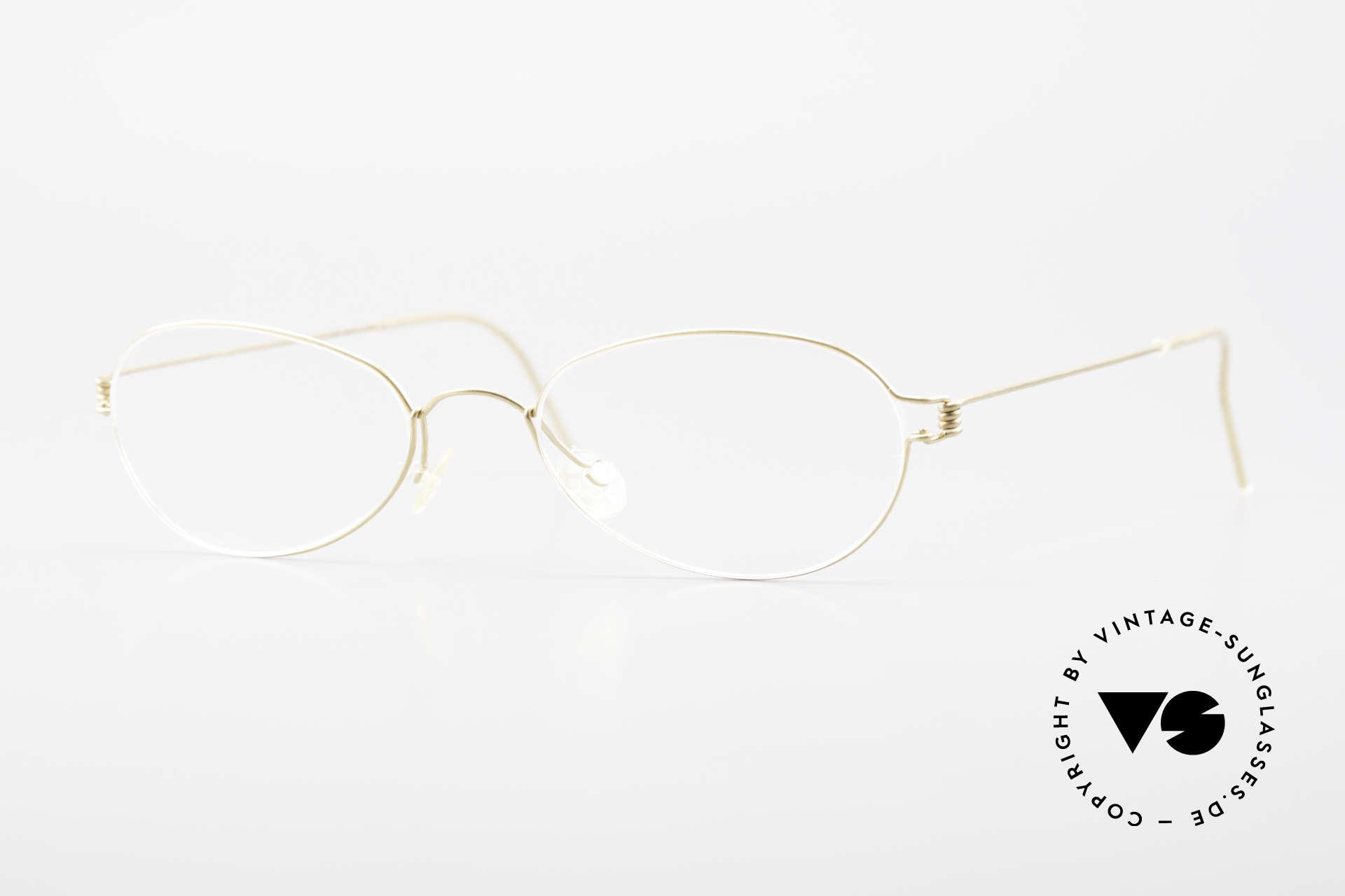 Lindberg Kari Air Titan Rim Titanium Ladies Eyeglasses, LINDBERG Air Titanium Rim eyeglasses in size 49-19, Made for Women
