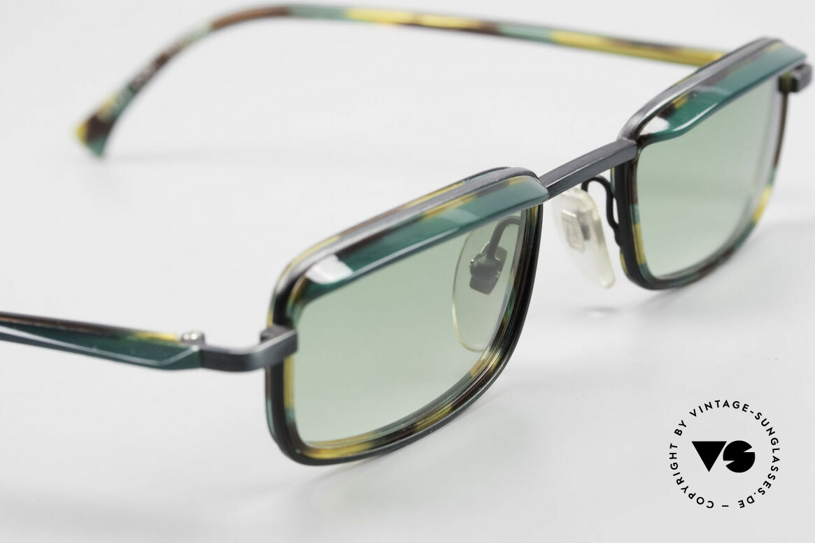 Alain Mikli 1147 / 3509 Square Designer Frame 90's, unworn (like all our vintage Mikli Paris eyewear), Made for Men and Women