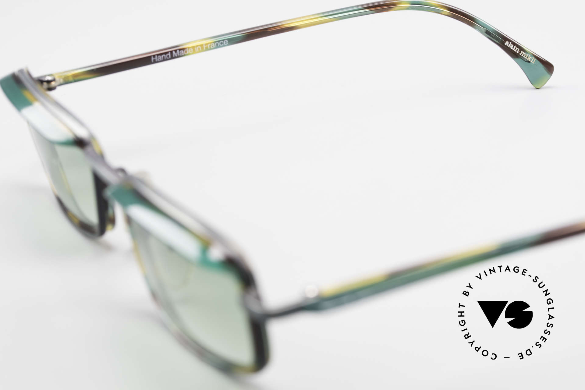 Alain Mikli 1147 / 3509 Square Designer Frame 90's, Size: medium, Made for Men and Women