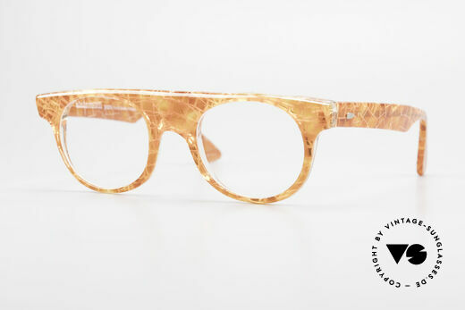 Alain Mikli 0127 / 166 80's Designer Eyeglass-Frame Details