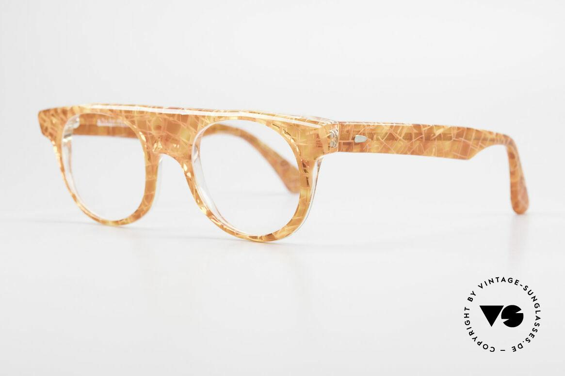 Alain Mikli 0127 / 166 80's Designer Eyeglass-Frame, quality eyeglasses (Hand Made in France) from 1986, Made for Women