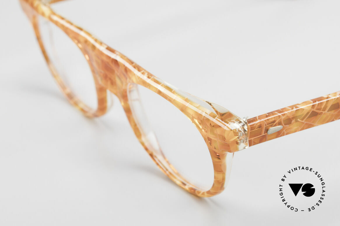Alain Mikli 0127 / 166 80's Designer Eyeglass-Frame, unworn (like all our vintage Alain Mikli Paris glasses), Made for Women