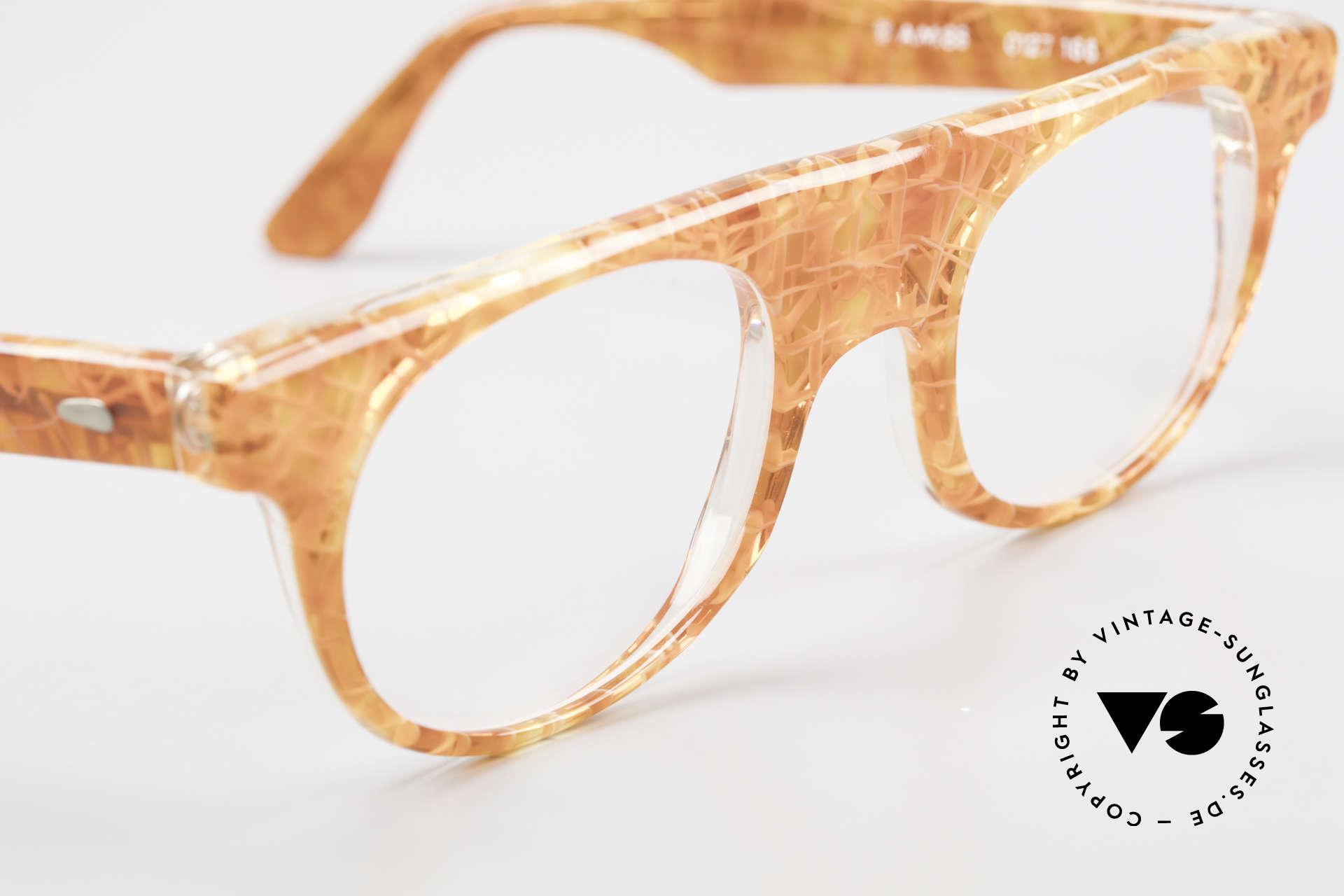 Alain Mikli 0127 / 166 80's Designer Eyeglass-Frame, NO RETRO eyewear, but a unique 35 years old original, Made for Women