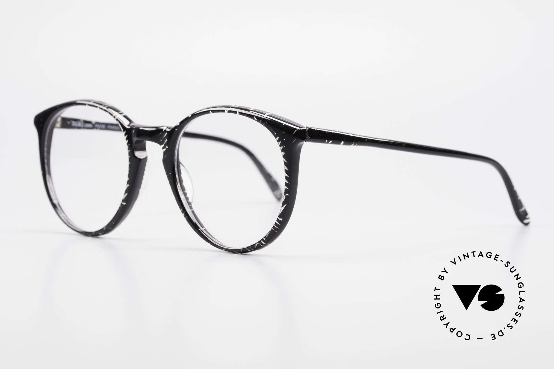 Alain Mikli 901 / 299 Panto Frame Black Crystal, handmade quality and 125mm width = SMALL size!, Made for Men and Women
