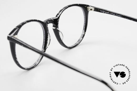 Alain Mikli 901 / 299 Panto Frame Black Crystal, frame can be glazed with prescription (sun) lenses, Made for Men and Women
