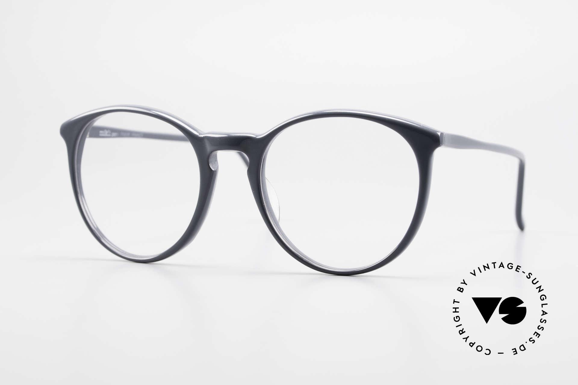 Alain Mikli 901 / 075 No Retro Glasses True Vintage, elegant VINTAGE Alain Mikli designer eyeglasses, Made for Men and Women