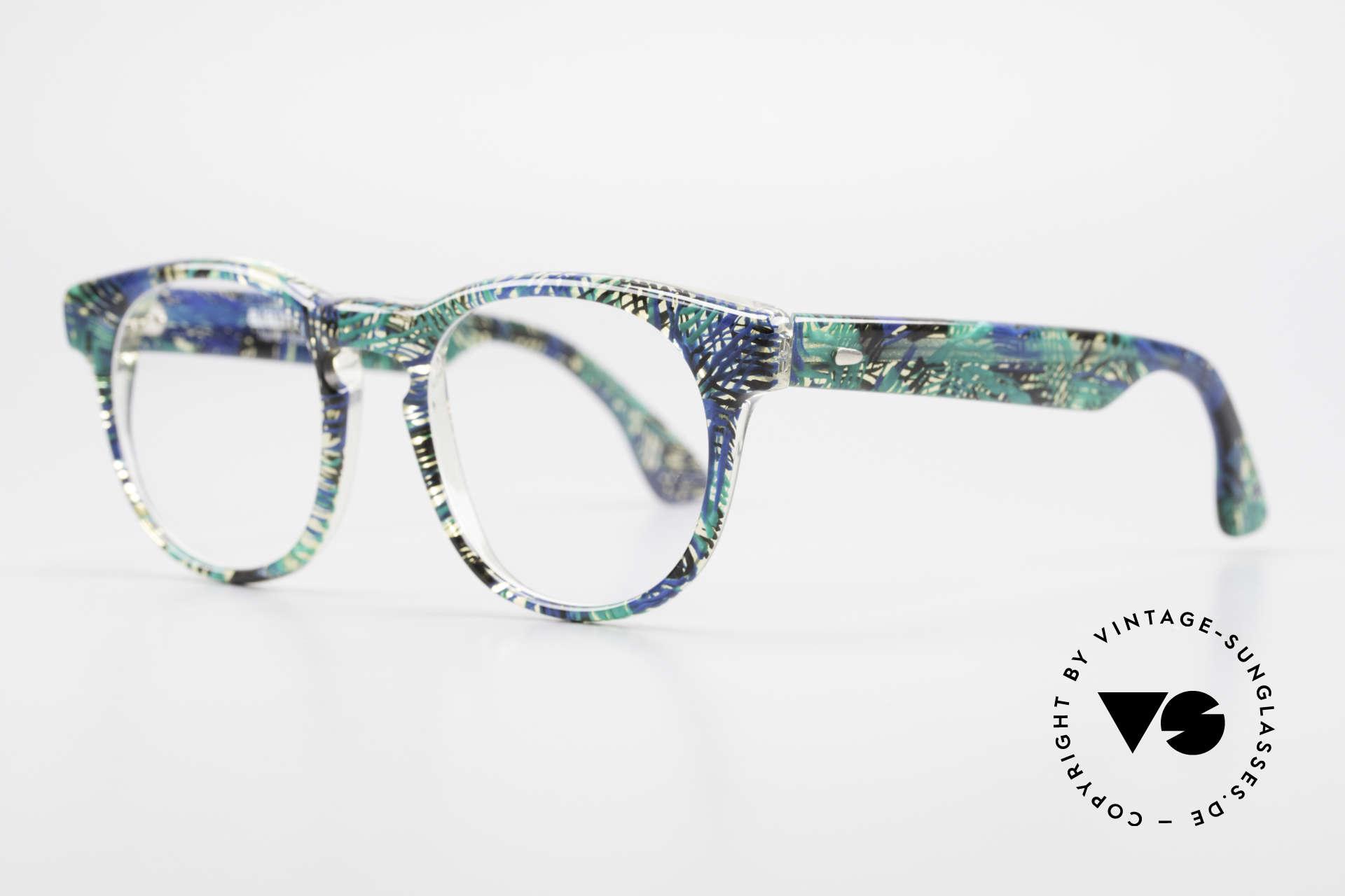 Alain Mikli 903 / 391 Panto Frame Green Patterned, inspired by the 1960's 'Tart Optical Arnel' frames, Made for Men and Women
