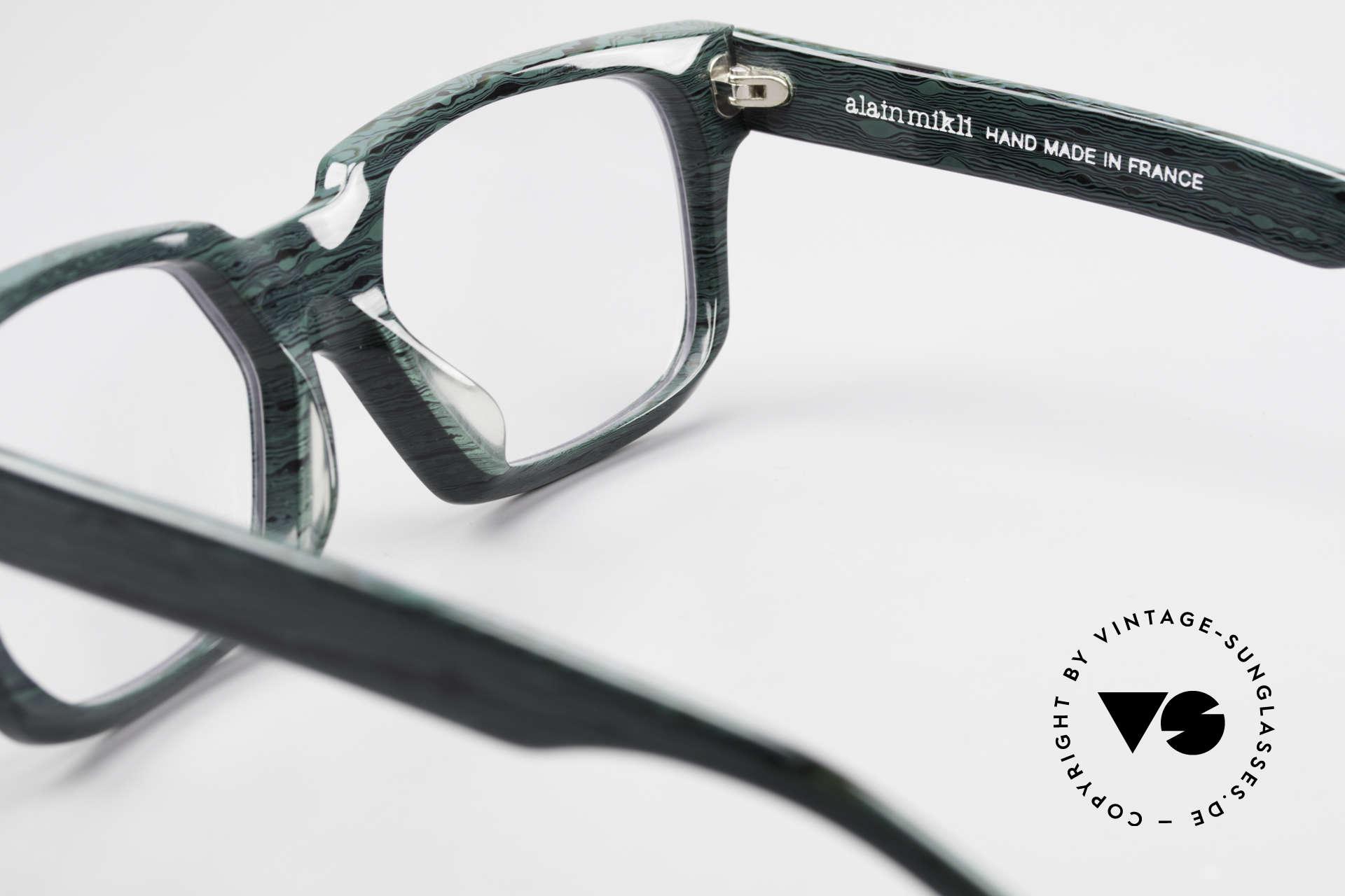 Alain Mikli 0143 / 285 Striking 1980's Eyeglasses, frame can be glazed with (sun) lenses / prescriptions, Made for Men and Women