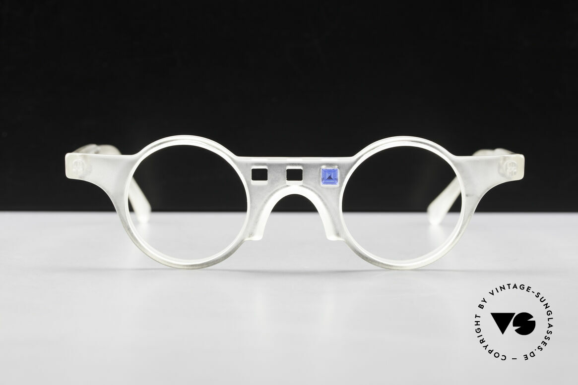 Tattoo Karfunkel 2 Fancy Vintage Eyeglasses, two 90's rarities for a little variety in everyday life, Made for Women